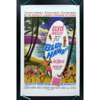 BLUE HAWAII w Elvis Rage Vintage Movie Poster