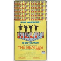 "Beatles ""Help"" Rare Vintage Movie Poster"