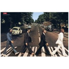 The Beatles Rare ABBY ROAD  Vintage Movie Poster