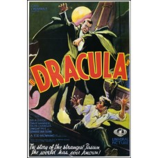 DRACULA Rage Vintage Movie Poster