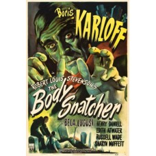 BODY SNATCHER w Boris Karloff Vintage Movie Poster
