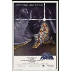 Star Wars Rare Vintage Movie Poster