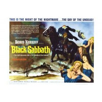 BLACK SABBATH Rare Vintage Movie Poster