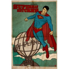 SUPERMAN RETURNS Rare Vintage Poster