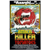 ATTACK OF THE KILLER TOMATOES Vintage Movie Poster