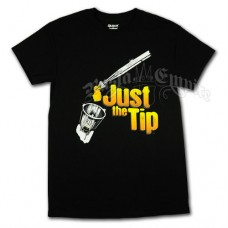 Just the Tip Resin Black T-Shirt - Men's