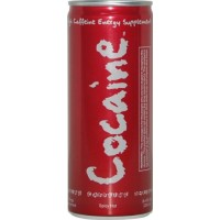 Cocaine Energy Supplement Drink 8.4 oz. - (Spicy Hot Flavor)