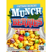 Captain Crunchy Munch Berries CBD Breakfast Cereal