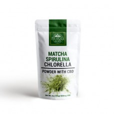 CBD Super Food Mix with Matcha, Spirulina and Chlorella