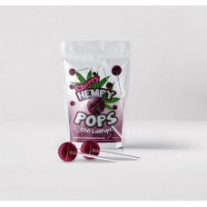 Hempy POPS-CBD Lollipops Cherry