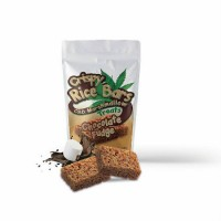 Crispy Rice Bars: CBD Marshmallow Treats - Chocolate Fudge