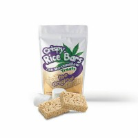 Cripsy Rice Bars: CBD Marshmallow Treats - The Original