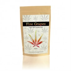 Fire Grapes CBD Hemp Buds