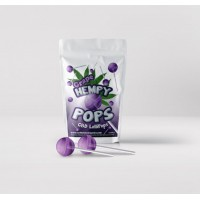 Hempy POPS- CBD Lollipops Grape