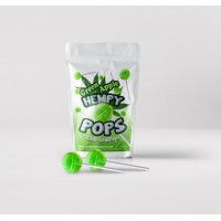 Hempy POPS- CBD Lollipops Green Apple