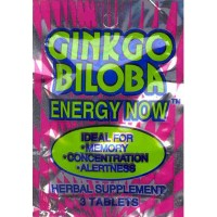 GINKGO BILOBA ENERGY NOW