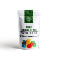 CBD Gummy Bears 25mg CBD Each 10ct