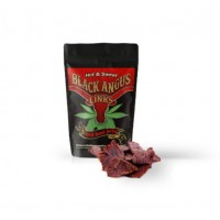 Black Angus Links: CBD Beef Jerky - Hot & Sweet