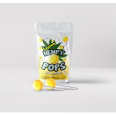 Hempy POPS-CBD Lollipops Lemon