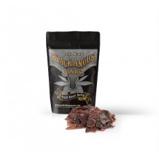 Black Angus Links: CBD Beef Jerky - Peppered