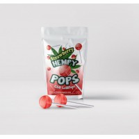 Hempy POPS- CBD Lollipops Strawberry