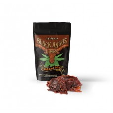 Black Angus Links: CBD Beef Jerky - Teriyaki