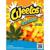Weetos CBD Cheese Puffs