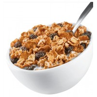 CBD Raisin Breakfast Cereal