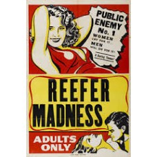 Reefer Madness Rare Vintage Movie Poster