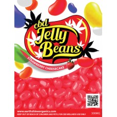 CBD Jelly Beans - Strawberry Cheesecake