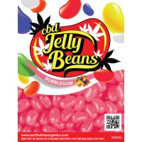 CBD Jelly Beans - Bubble Gum