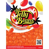 CBD Jelly Beans - Orange Juice