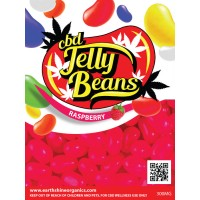 CBD Jelly Beans - Raspberry