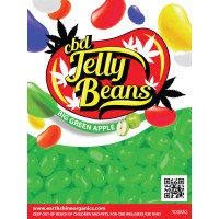 CBD Jelly Beans- Big Green Apple