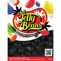 CBD Jellly Beans - Black Sweet Licorice