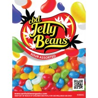 CBD Jelly Beans - Sour Assorted
