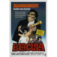 BLOODSUCKER DRACULA Vintage Movie Poster