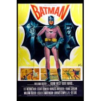 BATMAN Rare Vintage Movie Poster