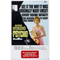 Alfred Hitchcock's PSYCHO Vintage Movie Poster