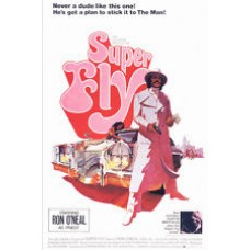SUPER FLY with Ron O'Neal Vintage Movie Poster