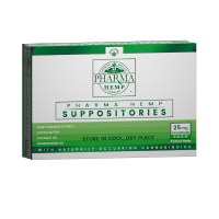 Hemp CBD Suppositories 25mg 5ct