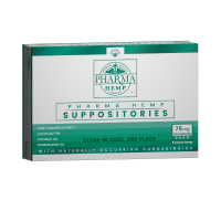 Hemp CBD Suppositories 75mg 5ct